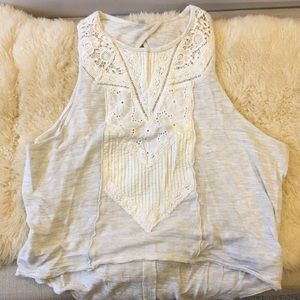 NWOT Free People Open Back Tank Top